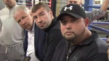 Yvon Michel, Lucian Bute et Angel Heredia