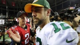 Matt Ryan et Aaron Rodgers