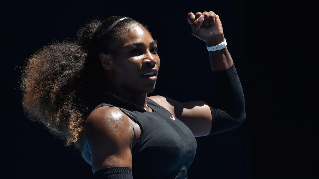 Serena Williams écrit à son futur bébé