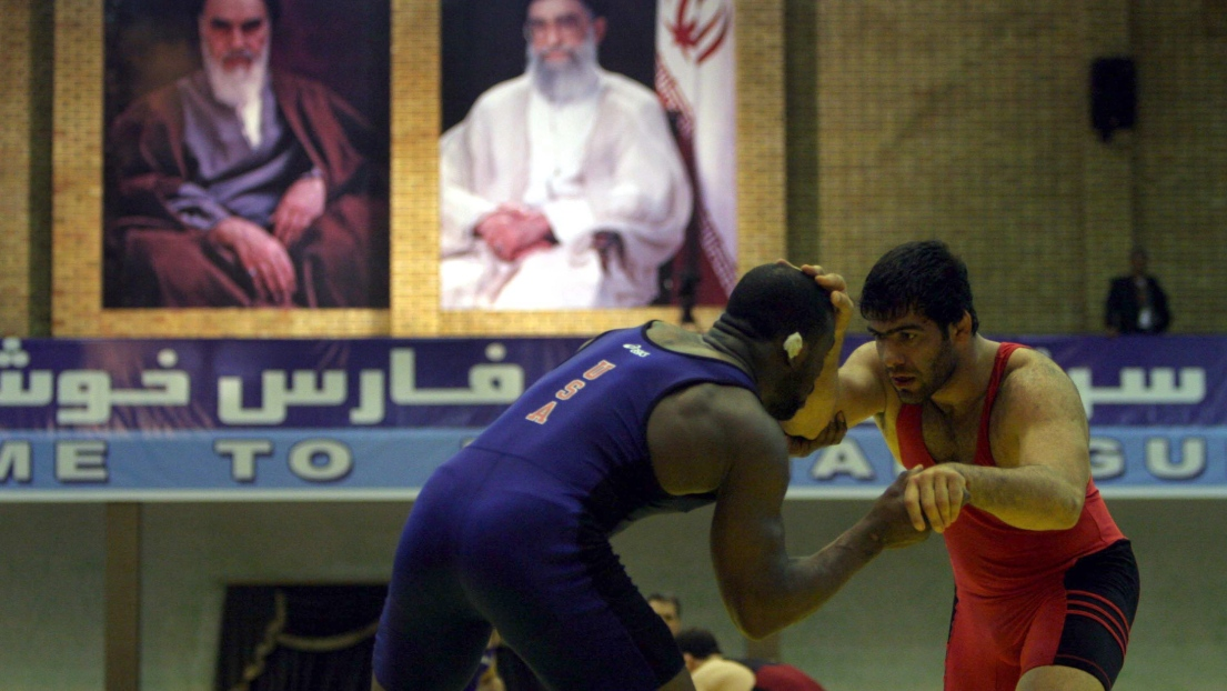 L'équipe américaine de lutte interdite de compétition en Iran