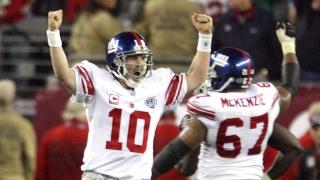 Eli Manning, XLII, Giants, 2008