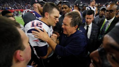 Belichick « n'a jamais évolué » avec Brady