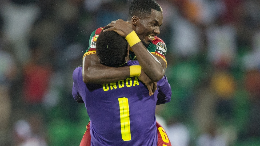 Ambroise Oyongo et Joseph Fabrice Ondoa Ebogo