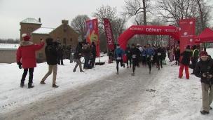 Huw Lobb remporte le demi-marathon hypothermique de Montréal