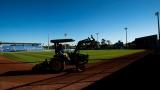 À Dunedin, on se prépare pour le camp d'entraînement des Blue Jays de Toronto.