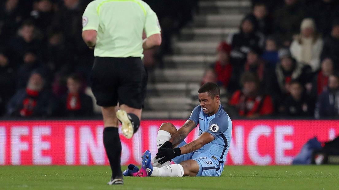 Premier League - Manchester City : Deux à trois mois d'absence pour Gabriel Jesus