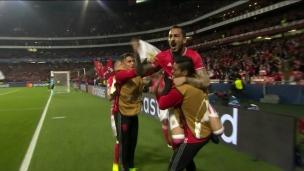 Mitroglou ouvre le compteur de Benfica