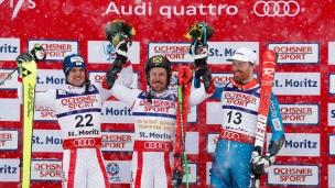 Marcel Hirscher souverain au slalom géant