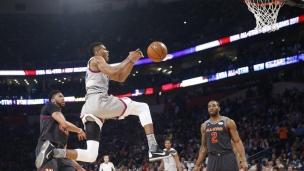 NBA : L'Ouest bat l'Est 192-182 au Match des étoiles