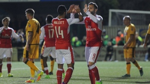 Sutton United 0 - Arsenal 2
