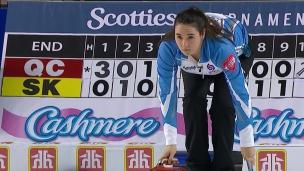 Québec 7 - Saskatchewan 5