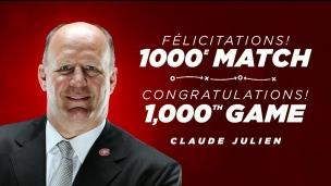 Belle reconnaissance pour Claude Julien