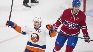 Islanders 3 - Canadiens 0