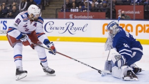 Rangers 2 - Maple Leafs 1 (Tirs de barrage)