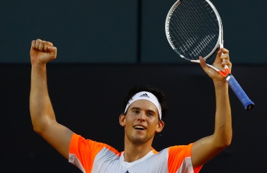 ATP : Dominic Thiem dans le carré d'as à Rio