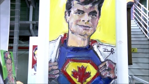 Superman Raonic