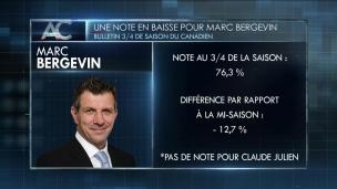 Une note à la baisse pour Bergevin