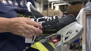 Des patins conçus au Québec