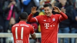 Robert Lewandowski et Douglas Costa