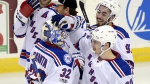 Rangers 4 - Devils 3 (Prol.)