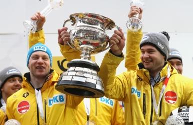 Friedrich et Lochner sont déclarés champions en bobsleigh à quatre