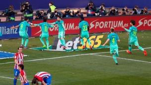 Atlético Madrid 1 - FC Barcelone 2