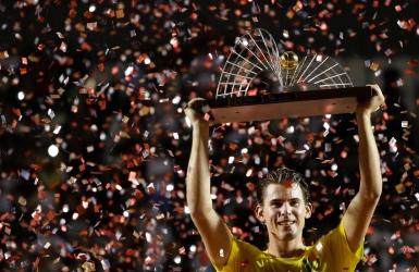 Dominic Thiem soulève son 8e trophée