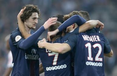 Soccer : Le PSG fracasse Marseille 5 à 1