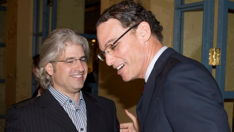 Jim Popp et Marc Trestman