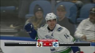 Burrows prend le chemin d'Ottawa