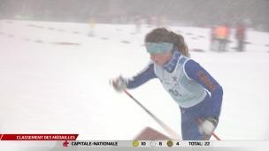Des conditions difficiles en ski de fond