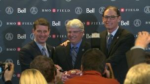 Popp et Trestman présentés à Toronto