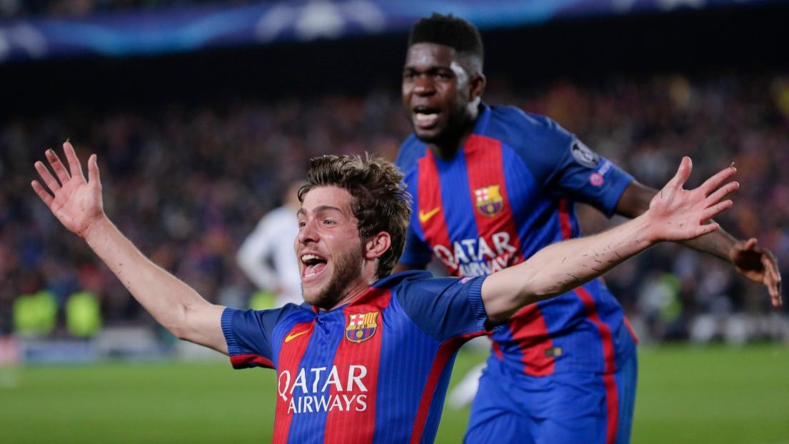 Barcelone - Sergi Roberto et Andre Gomes absents un mois
