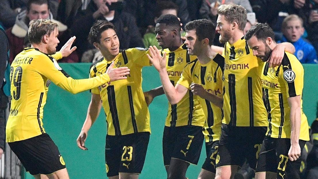 Le Borussia Dortmund affrontera le Bayern Munich en demi-finale — Coupe d'Allemagne