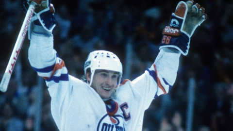La carte recrue de Gretzky vendue 3,75 M$