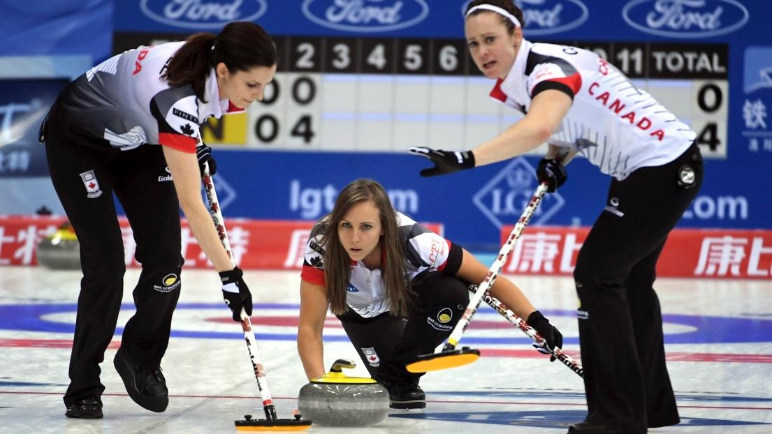 Rachel Homan championne du monde — Curling