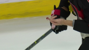 Crosby assène un violent coup de bâton à Methot