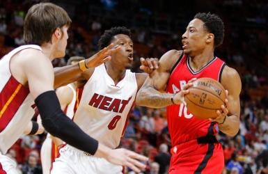 NBA : DeRozan ne refroidit pas du tout