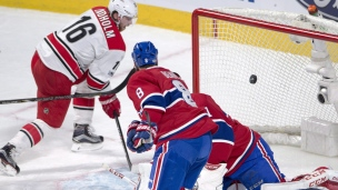 Hurricanes 4 - Canadiens 1