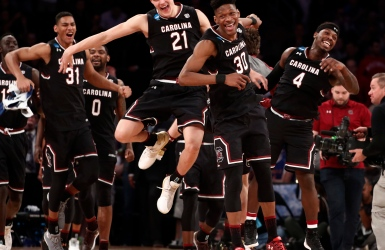 South Carolina dans l'Elite 8 pour la 1re fois