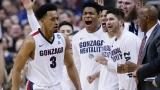 Gonzaga a été la première équipe à se qualifier pour le Final Four, samedi