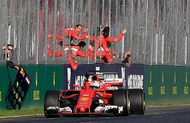 Une victoire qui ouvre l'appétit de Ferrari