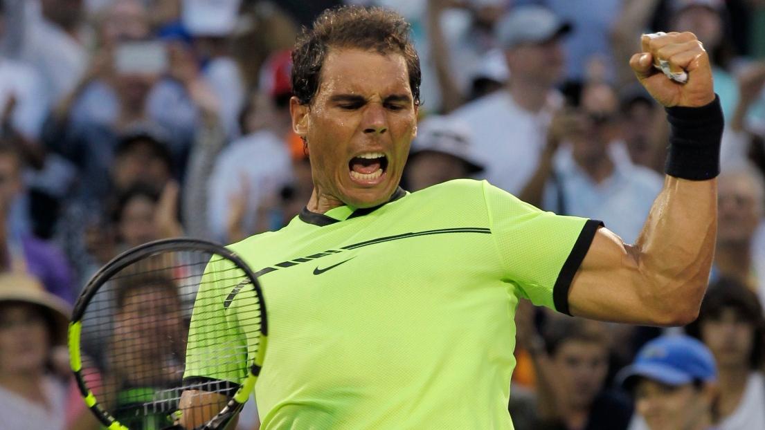Tennis : Nadal vainqueur pour son 1000ème match