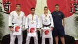 De gauche à droite, Shady El Nahas, Gabriel Juteau, François Gauthier-Drapeau et Kevin Gauthier.