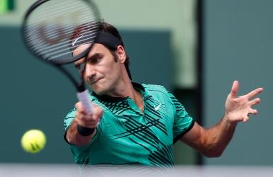 Roger Federer est dominant à Miami