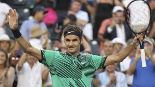 Federer remplit son mandat