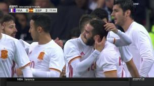 Espagne 2 - France 0