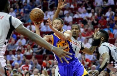 NBA : Curry mène la charge face aux Rockets