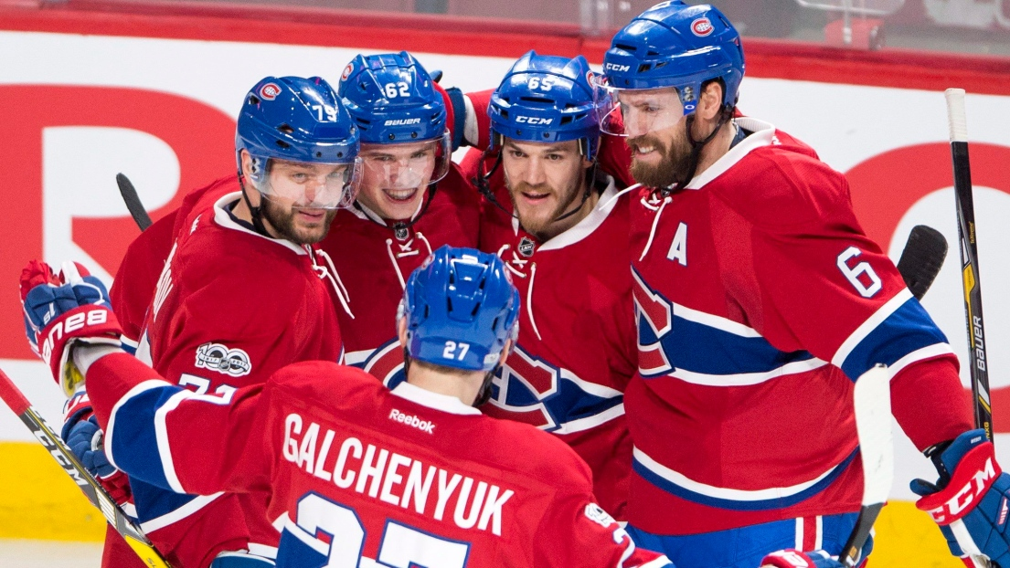 Lnh le canadien de montr al bat les stars de dallas - Image hockey canadien ...