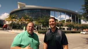 Les amphithéâtres sportifs de Miami